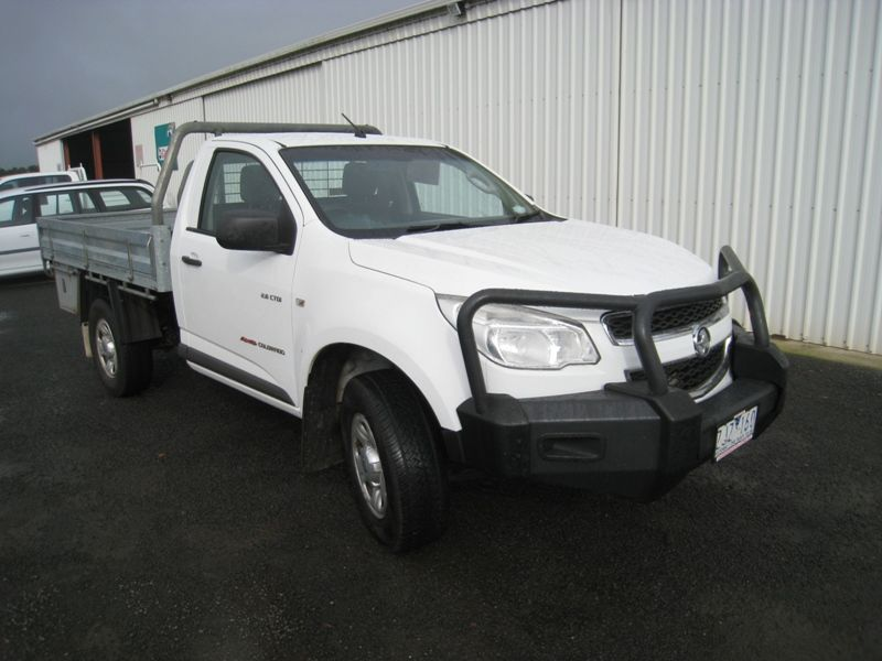 Holden RG Colorado 4WD Tray  2012