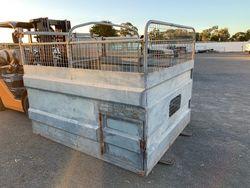 Galvanised Stock Crate