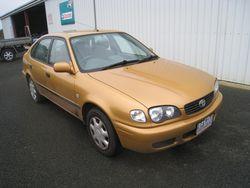 Toyota Corolla Hatch - 2001